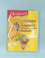 Magnet Collection Brossard Carte Afrique Le Singe Vervet - Animals & Fauna