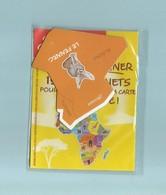 Magnet Collection Brossard Carte Afrique Le Fennec - Animals & Fauna