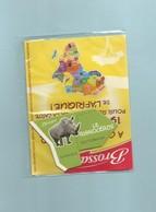 Magnet Collection Brossard Carte Afrique Le Rhinocéros - Animals & Fauna