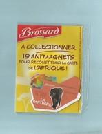 Magnet Collection Brossard Carte Afrique La Panthére - Animals & Fauna
