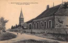 21 - COTE D' OR / 215810 - Montagny Les Seurre - L'école Et L'église - France