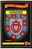 Cpsm  Blason Adhésif Vendée - France