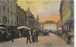AK 0889  Klagenfurt - Alter Platz / Verlag Leon Sen. Um 1905 - Klagenfurt