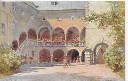 AK 0889  Klagenfurt - Landhaushof / E. T. Compton Künstlerkarte Um 1914 - Compton, E.T.