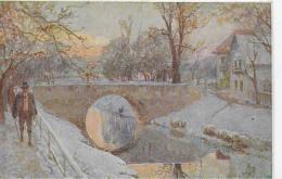 AK 0889  Klagenfurt -Landkanal / E. T. Compton Künstlerkarte Um 1910-20 - Compton, E.T.