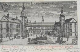 AK 0889  Klagenfurt -Landhaus Um Das Jahr 1688  / Verlag Leon Sen. Um 1898 - Klagenfurt