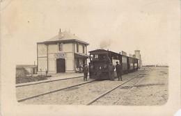BEINE - La Gare - TRAIN - Yonne - 89 - France