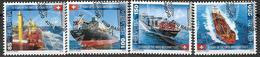2016 Schweiz Mi. 2427-0 FD-used  75 Jahre Schweizer Handelsflotte. - Used Stamps