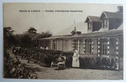 CPA 61 HOPITAL DE L'AIGLE PAVILLON PREVENTORIUM SANATORIUM - LAIGLE - Frankreich