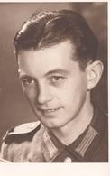 WK 2, Soldat, Portrait Fotokarte - War 1939-45