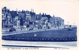 62 - PARIS-PLAGE - La Digue Et Les Pelouses - Le Touquet