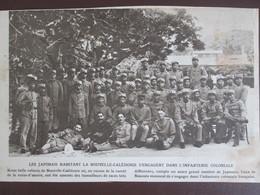 Les Japonais Habitant La NOUVELLE CALEDONIE S Engagent Pour L  L Infanterie Coloniale - Non Classificati