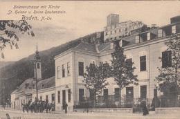 BADEN (NÖ) - Helenenstrasse Mit Kirche, Karte Um 1905, Gute Erhaltung - Baden Bei Wien