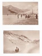 CP  Deux    Photos Cartes  :   Eissport  Et Bobsleigh   In   Andermatt - UR Uri