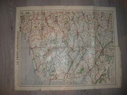 Carte Front Anglo Belge édité Par La Science Et La Vie N0 27 Juin Juillet 1916 Flandres Artois Picardie - Geographical Maps