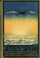 FLUGSPORT FLUGWESEN URSINUS FRANKFURT MAIN IX 1917 LUFTFAHRT FLUGZEUGE MILITÄR LUFTHANSA - Cars & Transportation