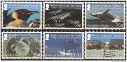 British Antarctic Territory 2016 25 Ans Protection De L'environnement Neuf ** - Territoire Antarctique Britannique  (BAT)