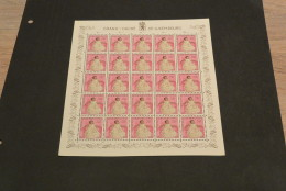 GR16A-  7 Sheets MNh - Some Sheet Plied And Damaged On Back - Luxembourg Carotas Mostky 1957- 1963 - Non-normalised Ship - Full Sheets