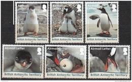 British Antarctic Territory 2016 Manchot Gentoo Lettre Neuf ** - Territoire Antarctique Britannique  (BAT)