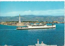 Messina - Nave Traghetto E Madonnina Del Porto - H4219 - Messina