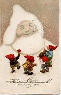 GNOMI-GNOMES-LUTINS-NAINS-ZWERGE - ANNO NUOVO - NEW YEAR - NEUEN JAHRE - N 173 - Nouvel An