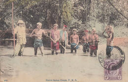 Native Sackai People, F.M.S Used 1911 From Singapore Singapour Sakai Asia MALAYSIA Malaisie Asie - Malaysia