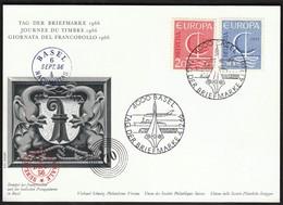 Switzerland 1956 / Europa CEPT / Stamp Day - 1956