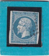 N° 14A   PC  X    -REF 14112 + VARIETE - 1853-1860 Napoléon III