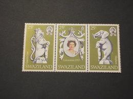 SWAZILAND - 1978 REGINA/ANIMALI 3 VALORI - NUOVI(++) - Swaziland (1968-...)