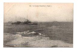"""BATEAU . GUERRE . LE CONTRE-TORPILLEUR . """" ÉPÉE """" - Réf. N°9406 - - Warships"""