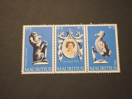 MAURITIUS - 1978 REGINA/ANIMALI 3 VALORI - NUOVI(++) - Mauritius (1968-...)