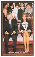 0372 Niger 1997 Lady Diana S/S MNH - Beroemde Vrouwen