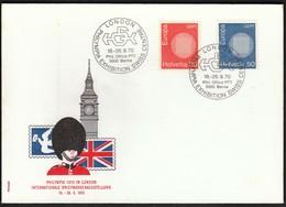 Switzerland 1970 / Philatelic Exhibition London Philympia / Europa CEPT - Expositions Philatéliques