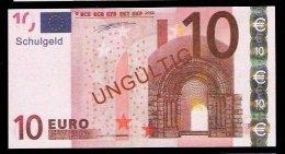 "10 Euro ""Austria - Schulgeld"", Billet Scolaire, Educativ, EURO Size, RRRRR, UNC Extrem Scarce!!! - Ohne Zuordnung"