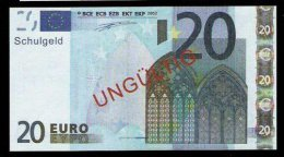 "20 Euro ""Austria - Schulgeld"", Billet Scolaire, Educativ, EURO Size, RRRRR, UNC Extrem Scarce!!! - Ohne Zuordnung"