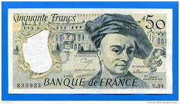 50  Fr  1988  Sup  Pas  De  Troue  D'epincle - 50 F 1976-1992 ''Quentin De La Tour''