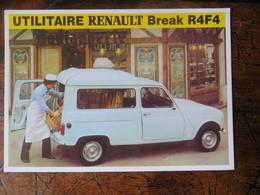 CPM Véhicule Utilitaire Renault Break R4F4 Boulanger Boulangerie - Collection Botton Centenaire édition - Cartoline