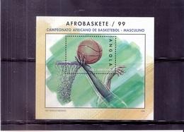Basket-Ball - Bloc 57 Angola  - XX/MNH (à Voir) - Basketball
