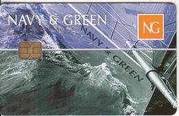 GREECE - Navy & Green, Member Card, Unused - Unclassified