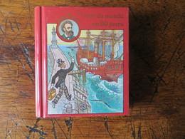 Boite Métal Pastilles De Dextrose - Mini Livre Jules Verne - Le Tour Du Monde En 80 Jours - Origine Suisse - Boxes