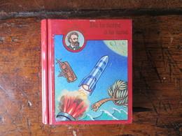 Boite Métal Pastilles De Dextrose - Mini Livre Jules Verne -De La Terre à La Lune - Origine Suisse - Boxes