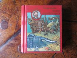 Boite Métal Pastilles De Dextrose - Mini Livre Jules Verne - Vingt Mille Lieues Sous Les Mers - Origine Suisse - Boxes