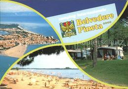 72037955 Grado Pineta Camping Internazionale Belvedere Pineta Fliegeraufnahme St - Italia