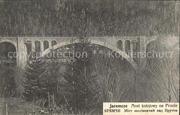 12001436 Jaremcze Jaremtsche Most Kolejowny Na Prucie Bruecke Ukraine - Ukraine