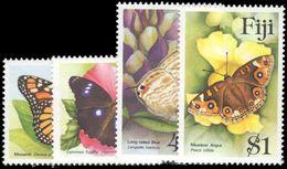 Fiji 1985 Butterflies Unmounted Mint. - Fiji (1970-...)
