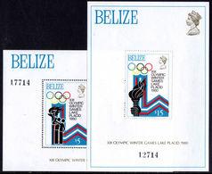 Belize 1979 Winter Olympics Souvenir Sheet Unmounted Mint. - Belize (1973-...)