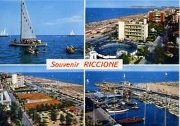 Souvenir - Riccione - 1172-1- Formato Grande  Viaggiata – E 5 - Rimini