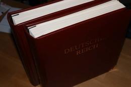 DEUTSCHES REICH Sammlung Postfrisch, Gefalzt, Gestempelt In 2 Vordruckalben... 161 Bilder ....174 (F) - Timbres