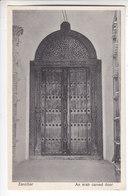 Ps- TANZANIE - ZANZIBAR - An Arab Carved Door - Porte - - Tanzania