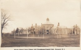 Howard Rhode Island, Rhode Island State Prison, Providence County Jail, C1910s/20s Vintage Real Photo Postcard - Prison